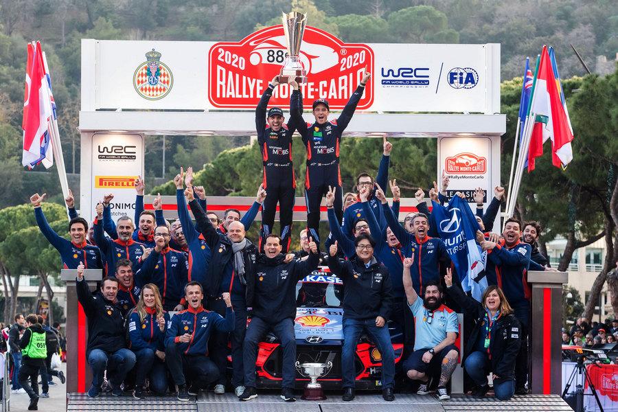 Переможний фініш команди Hyundai Motorsport у Монте-Карло